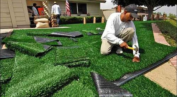 best installation guidelines for fake grass